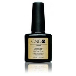 Cnd Shellac Manicure Hybrydowy Uv Top Coat 15ml Duży