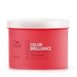 Wella Invigo Brilliance For Fine/Normal Hair Maska do Włosów Farbowanych Cienkich i Normalnych 500ml